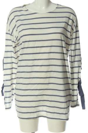 Asos Stripe Shirt white-light grey striped pattern casual look