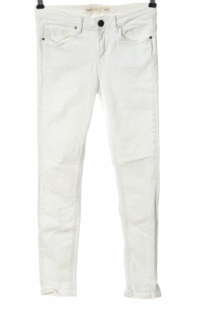 Asos Tube jeans wit casual uitstraling