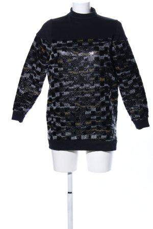 Asos Turtleneck Sweater allover print casual look mixture fibre