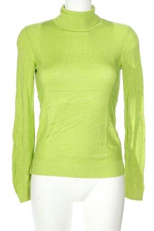 Asos Rollkragenpullover grün Casual-Look
