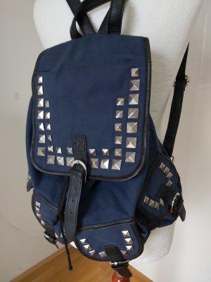 Asos Daypack dark blue-steel blue
