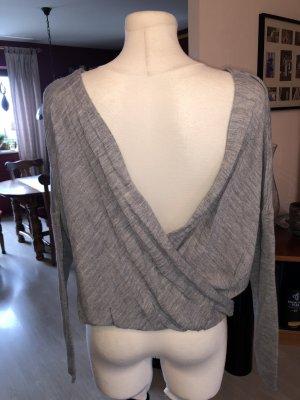 ASOS DESIGN Maglione lavorato a maglia grigio