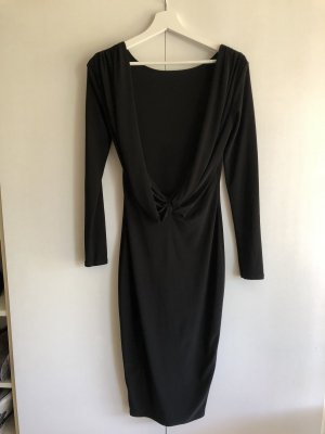 ASOS rückenfreies Stretch-Kleid schwarz 38