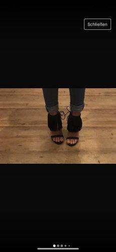 Asos Sandale schwarz