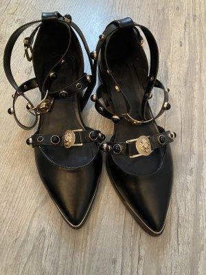 Asos Sandalo romano nero-oro