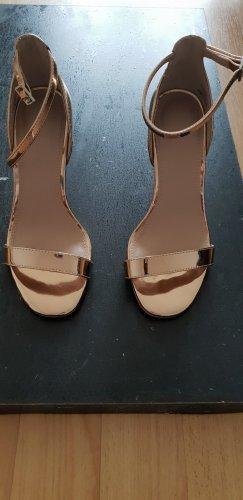 Asos Sandalias con plataforma beige