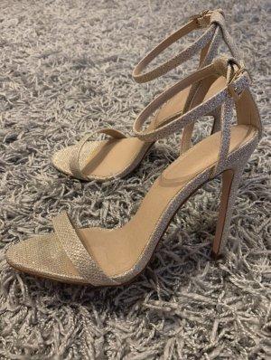 ASOS Sandalette Gold