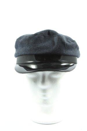 Asos Visor Cap blue-black casual look