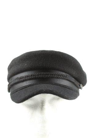 Asos Cappello con visiera nero stile professionale
