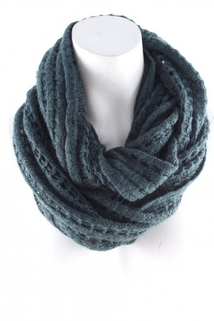 Asos Tube Scarf dark green casual look