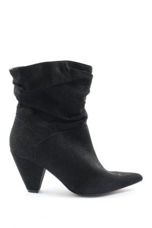 Asos Schlüpf-Stiefeletten schwarz Elegant