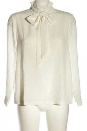 Asos Tie-neck Blouse natural white business style