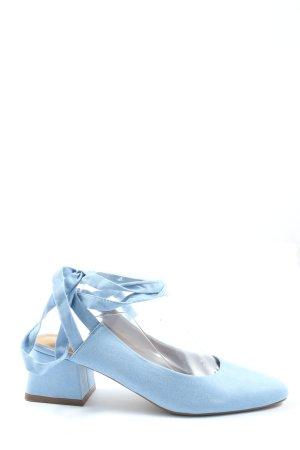 Asos Schnür-Pumps blau extravaganter Stil
