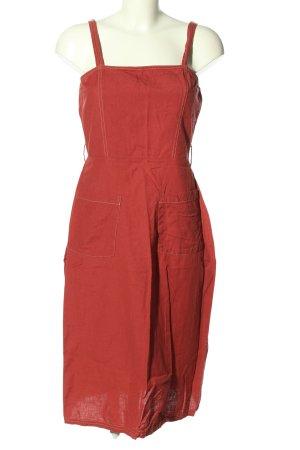 Asos Trägerkleid rot Casual-Look