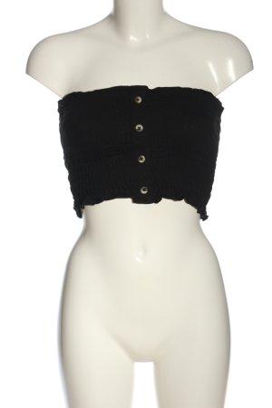 Asos Off-The-Shoulder Top black casual look