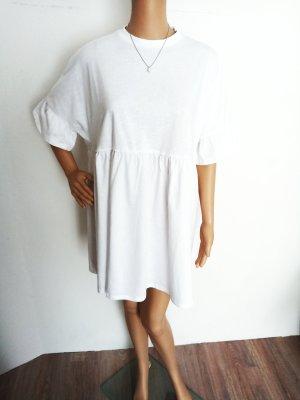 Asos Robe bas asymétrique blanc