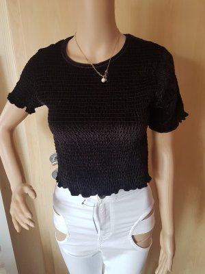 asos Shirt samt schwarz 36(8) NEU