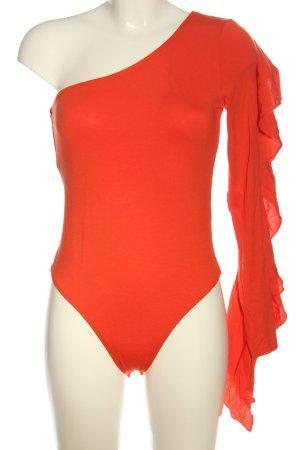 Asos Shirtbody licht Oranje elegant