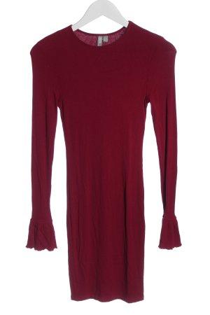 Asos Sukienka o kroju koszulki czerwony W stylu casual