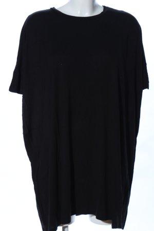 Asos Vestido estilo camisa negro look casual