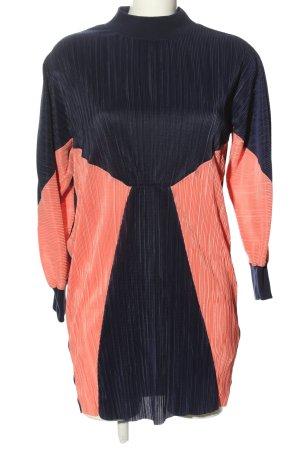 Asos Sukienka o kroju koszulki czarny-różowy Na całej powierzchni