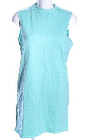 Asos Shirtkleid blau Business-Look