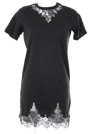 Asos Shirtkleid schwarz Casual-Look