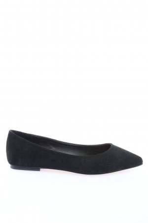 Asos Shoes Ballerinas with Toecap black business style
