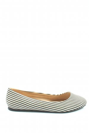 Asos Shoes Classic Ballet Flats black-white allover print casual look