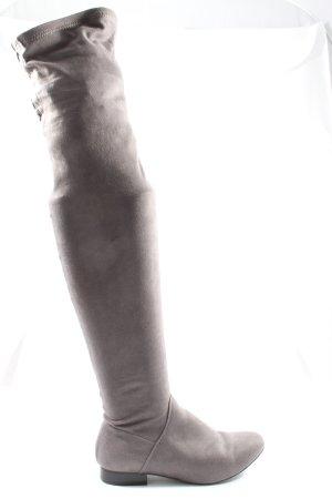 Asos Shoes Cuissarde gris clair style d'affaires