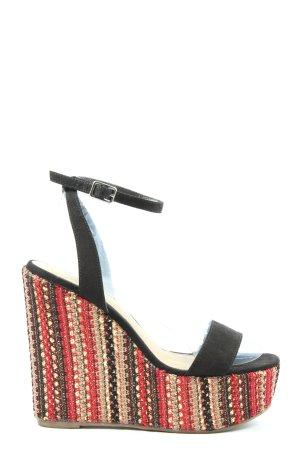 Asos Shoes Plateauzool sandalen veelkleurig casual uitstraling