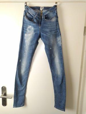 ASOS Skinny Jeans Distressed Wash EUR 36, US 4, UK 8