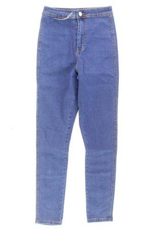Asos Jeans skinny blu-blu neon-blu scuro-azzurro Cotone
