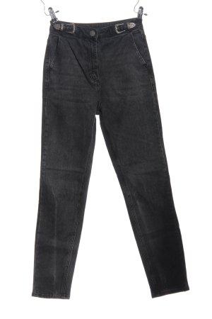 Asos Slim jeans zwart casual uitstraling