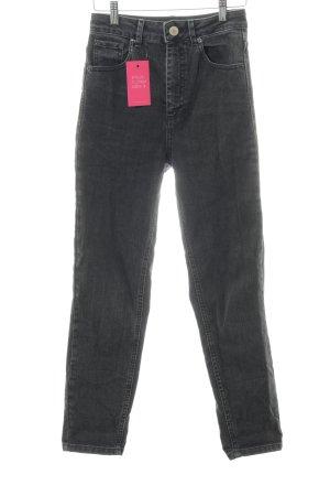 Asos Jeans slim noir style décontracté