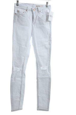 Asos Slim Jeans weiß Casual-Look