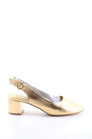 Asos Décolleté modello chanel oro stile casual