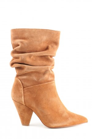 Asos Slouch Boots light orange casual look