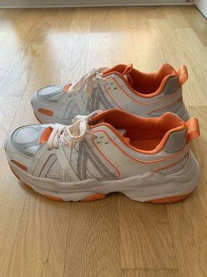 ASOS sneaker orange / weiß, nur 2x getragen