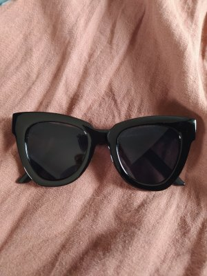 Asos Gafas de sol cuadradas negro