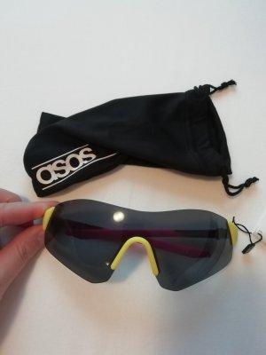 Asos Sonnenbrille Retro Techno Neon 90s 90ies 90er