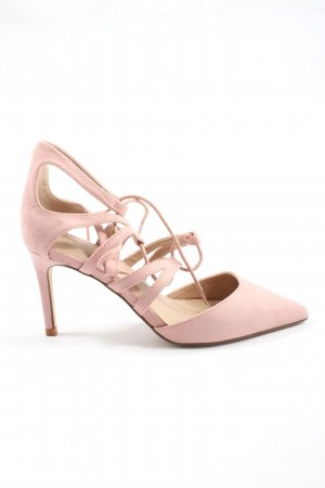 Asos Pointed Toe Pumps pink elegant