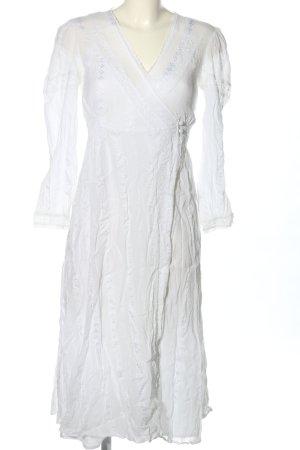 Asos Spitzenkleid weiß Elegant