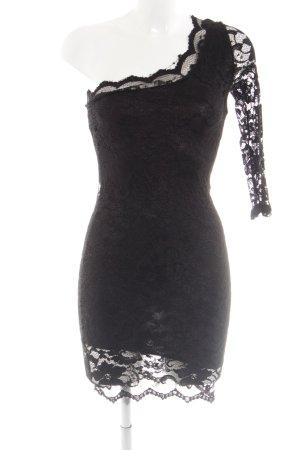 Asos Spitzenkleid schwarz Elegant