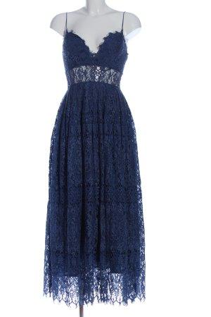 Asos Spitzenkleid blau Elegant