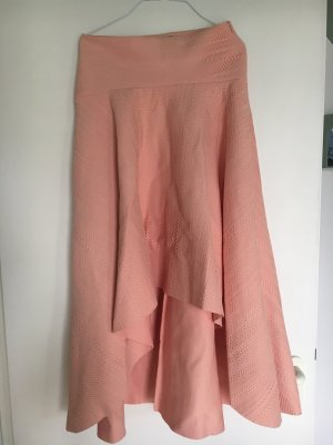 Asos Falda de encaje rosa