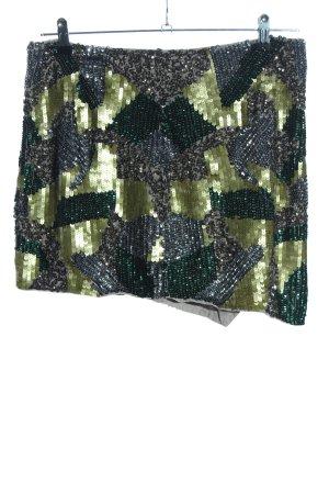 Asos Minirock abstraktes Muster extravaganter Stil