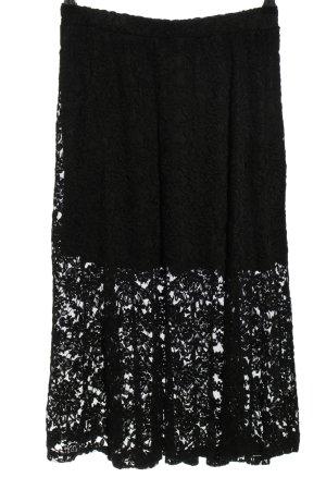 Asos Koronkowa spódnica czarny W stylu casual