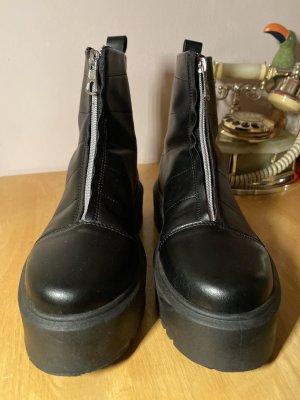 asos Stiefel mit Reißverschluss - Wide fit