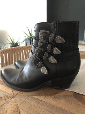 Asos Halfhoge laarzen zwart